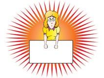 Mulher de negócios irritada Fotografia de Stock Royalty Free