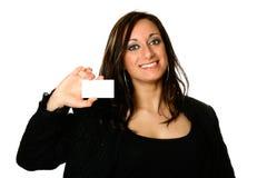 Mulher de negócios italiana Imagem de Stock Royalty Free