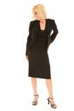 Mulher de negócios loura nova imagens de stock royalty free