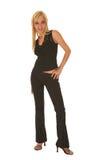 Mulher de negócios loura 'sexy' imagem de stock royalty free