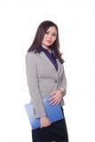 Mulher de negócios, menina do Kazakh Imagens de Stock Royalty Free