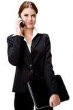 Mulher de negócios moderna Foto de Stock