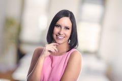 Mulher de negócios moderna Fotos de Stock Royalty Free