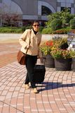 Mulher de negócios na cidade Imagem de Stock