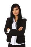 Mulher de negócios nova foto de stock