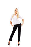 Mulher de negócios nova Fotografia de Stock Royalty Free