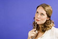Mulher de negócios nova Imagem de Stock Royalty Free