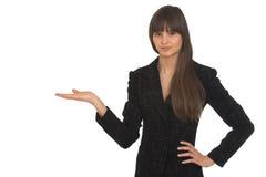 Mulher de negócios nova Fotos de Stock Royalty Free