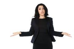 Mulher de negócios nova Imagem de Stock