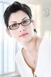 Mulher de negócios nova bonita Fotos de Stock