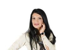Mulher de negócios nova bonita Imagens de Stock