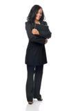 Mulher de negócios nova bonita Fotos de Stock Royalty Free
