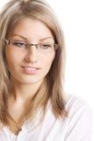 Mulher de negócios nova bonita imagem de stock royalty free