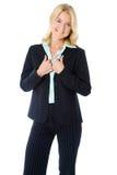Mulher de negócios ocasional foto de stock
