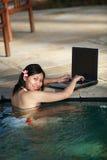 Mulher de negócios ocasional Foto de Stock Royalty Free