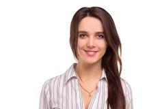 Mulher de negócios ou professor de sorriso novo Foto de Stock