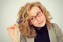 Mulher de negócios Planning Fotos de Stock