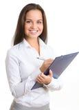 Mulher de negócios profissional Fotos de Stock