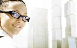 Mulher de negócios profissional imagem de stock