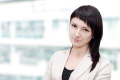 Mulher de negócios profissional moderna fotografia de stock royalty free