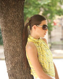Retrato da mulher. fotos de stock