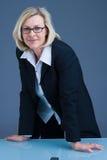 Mulher de negócios resistente Imagens de Stock Royalty Free