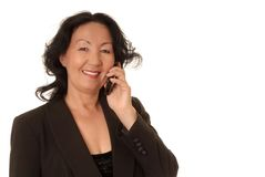 Mulher de negócios sênior Fotografia de Stock Royalty Free