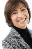 Mulher de negócios sênior feliz Imagem de Stock Royalty Free