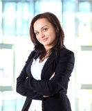 mulher de negócios 40s bonita Foto de Stock Royalty Free