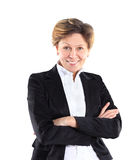 mulher de negócios 40s bonita Imagens de Stock