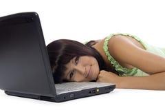 Mulher de negócios Tired Imagem de Stock