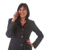 Mulher de negócios triguenha bonita Foto de Stock Royalty Free