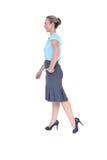Mulher de negócios Walking fotografia de stock