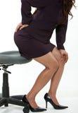 Mulher de negócio asiática dos anos quarenta atrativos Foto de Stock Royalty Free