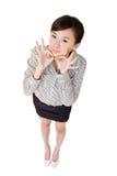 Mulher de negócio bonito Fotos de Stock Royalty Free