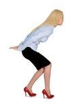 A mulher de negócio leva Imagens de Stock Royalty Free
