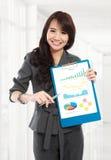 Mulher de negócio nova Fotos de Stock