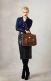 Mulher de negócios nova Foto de Stock Royalty Free
