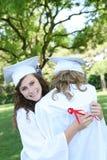 Mulher de Preety na graduação Fotos de Stock Royalty Free