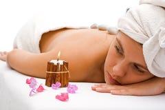 Mulher de relaxamento Foto de Stock