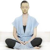 Mulher de relaxamento Imagem de Stock Royalty Free
