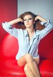 Mulher de sonho 'sexy' Imagem de Stock Royalty Free