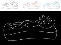 Mulher de sono Fotos de Stock