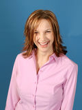 Mulher de sorriso Fotografia de Stock Royalty Free
