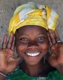 Mulher de sorriso Foto de Stock Royalty Free