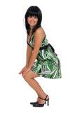 Mulher de sorriso Imagens de Stock Royalty Free