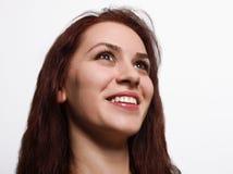 Mulher de sorriso Fotografia de Stock