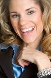 Mulher de sorriso Imagens de Stock