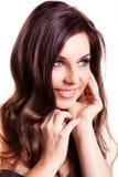 Mulher de sorriso atrativa Imagens de Stock Royalty Free