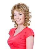 Mulher de sorriso bonita fotos de stock royalty free